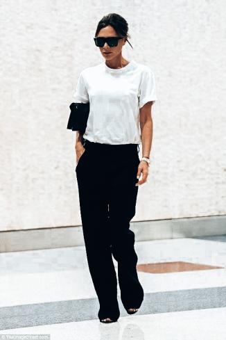 Victoria Beckham _ White Tee Shirt 10