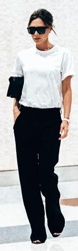 Victoria Beckham _ White Tee Shirt 11