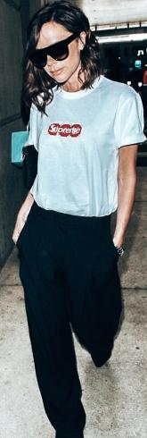 Victoria Beckham _ White Tee Shirt 6
